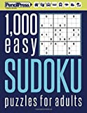 1000 easy Sudoku puzzles book for adults: Puzzle book for adults easy 1,000+ by