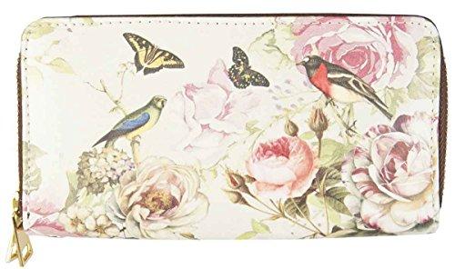 Clayre y Eef FAP0092-12 Monedero con diseño de flores de 20 x 11 cm aprox