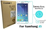 CASSIEY® 2.5D Curved Edge 9H Hardness Premium Tempered Glass For Samsung Galaxy J5 - Front