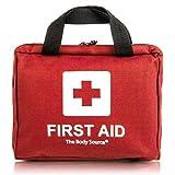 Kit di primo soccorso di 90 pezzi con ghiaccio pronto uso, kit lavaggio oculare e coperta...