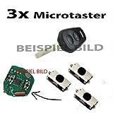 Für PORSCHE BOXSTER 996 CARRERA 911 Microtaster Mikrotaster Taster Fernbedienung Schlüssel