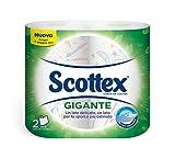 Scottex, Carta da Cucina Gigante, Un Lato Delicato, Un Lato per Lo Sporco Più Ostinato - 2 Rotoli