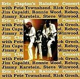 "ERIC CLAPTON""S RAINBOW CONCERT VINYL LP 1973 WITH PETE TOWNSEND/RICK GRECH/JIM CAPALDI/RONNIE WOOD/REBOP"