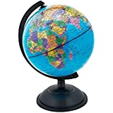 18CM GLOBE WORLD MAP ATLAS REVOLVING WITH STAND EDUCATIONAL XMAS GIFT by Discovery
