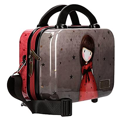 Gorjuss The Black Star Neceser de viaje, 29 cm, 9.14 litros, Multicolor