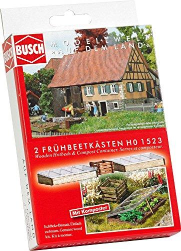 Preisvergleich Produktbild Busch 1523 - Frühbeetkästen und Komposter, Fahrzeug