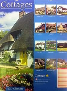 2013Kalender, Cottage Bilder. 12Monate. Bild.