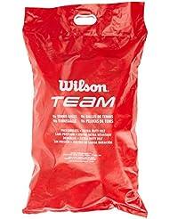 Wilson Tennisbälle, Team Trainer, Beutel mit 96 Bällen, Gelb, WRT131100