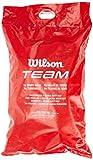 Wilson Palline da Tennis, Trainer Tball, Confezione da 96 palline depressurizzate, Giallo, WRT131100