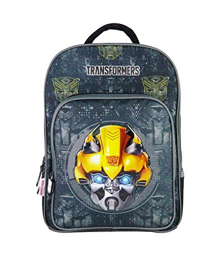 Bagtrotter TFEI12BYEL Transformers Sac à Dos Jaune Taille 29 x 15 x 40 cm