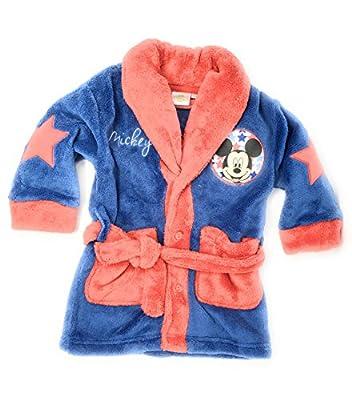 Bata pijama bebe Mickey Mouse . Color azul Talla 36 meses