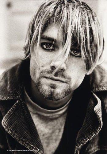 Cobain, KURT - Suicide - poster drapeau 100% polyester - Taille 75 x 110 cm