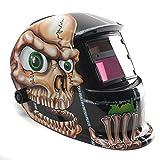 Caschi da saldatore,Solare Elettrico Casco Saldatura Maschera di Saldatura Automatico Rettifica Arc Tig Mig Grinding