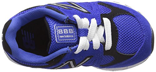 New Balance KJ888V1 Infant Running Shoe (Infant/Toddler) Blue/Black