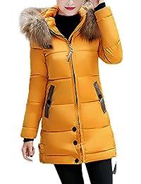 Amazon.es  Amarillo - Ropa de abrigo   Mujer  Ropa 083f5620c00f