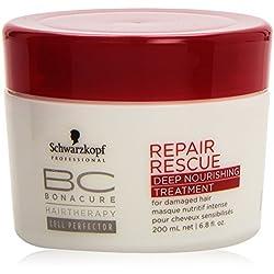 Schwarzkopf Bonacure Repair Rescue Deep Nourishing Treatment, 1er Pack (1 x 200 ml)