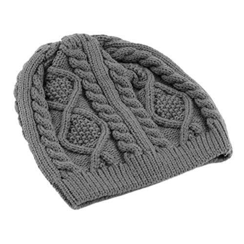 Noradtjcca Unisex Männer Frauen Hut Warme Winter Baskenmütze Geflochtene Baggy Beanie Lässige Mode Gestrickte Häkeln Hut Outdoor Ski Cap (Hüte Winter Womens Crochet)