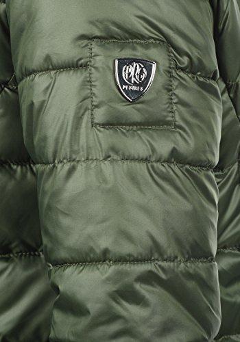 DESIRES Dori Damen Winterjacke Steppmantel mit Kapuze aus hochwertigem Material Climb Ivy (3785)