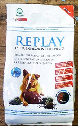 Semente americana Replay - La Rigenerazione del Prato - 5 Kg