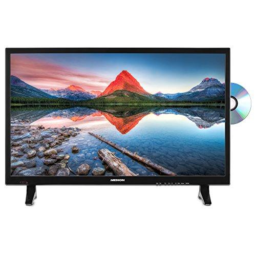 MEDION LIFE P12311 MD 21445 69,9 cm (27,5 Zoll HD) Fernseher (LCD-TV mit LED-Backlight, Triple Tuner, DVB-T2 HD, HDMI, CI+, USB, Mediaplayer, integrierter DVD-Player) schwarz
