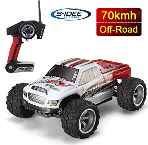 s-idee® 18108 A979-B RC Auto Buggy Monstertruck 1:18 Truck mit 2,4 GHz 70 km/h schnell WL*