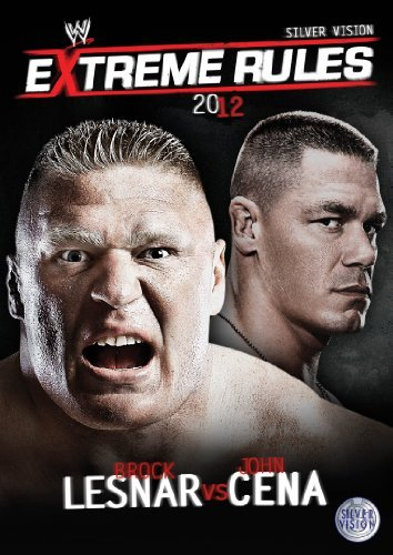WWE - Extreme Rules 2012 [DVD] by Brock Lesnar - Dvd Extreme Wwe