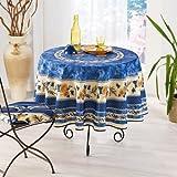 MCTISSUS-Tischdecke, rund, anti-Flecken, Motiv Leuchten und