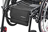 pickepack. Chiusura in velcro autoadesiva, 10 x 10 cm, accessori per pickepacke. Borsa per sedia a rotelle (solo lato morbido).