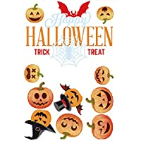 Halloween Skeleton Window Clings Decal Stickers Halloween Decorations Ornaments Party Supplies (1 Sheet)