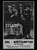 Rolling Stones reproduction Concert photo affiche 40x30cms