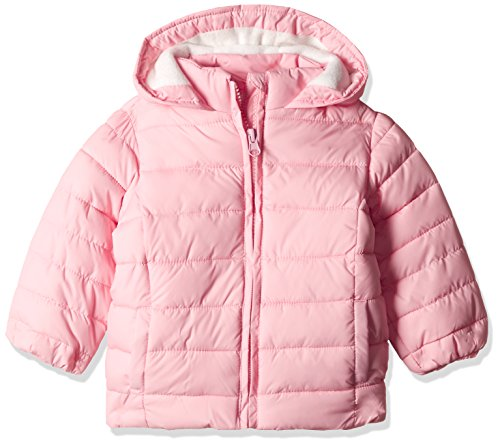 Fox Baby Girls' Jacket (666621380006_Pastal Pink_6)