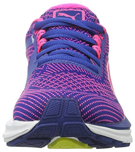Puma Speed 600 S Ignite Wn, Chaussures de Running Compétition Femme Bleu (True Blue-knockout Pink-puma White 04)