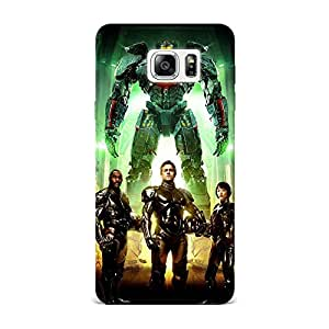 Samsung Note 7 Case, Samsung Note 7 Hard Protective SLIM Cover [Shock Resistant Hard Back Cover Case] for Samsung Note 7 -Pacific Rim Characters