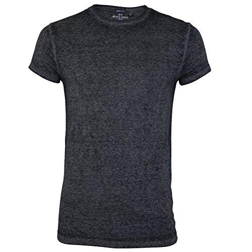 Brave Soul -  T-shirt - Uomo Black