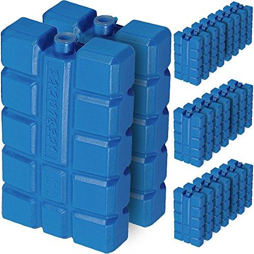 Deuba 24er Set Kühlakkus Kühlakku 200ml Kühlelement Kühlbox Kühltasche Eisbox Kühlpack -
