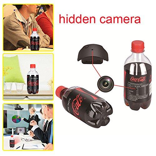 Preisvergleich Produktbild kaersishop Versteckter Kamera Wasser Flasche Motion Sicher Erkennung tragbar mini Sicherheit Kamera Video Aufzeichnung Full HD 1080p rot