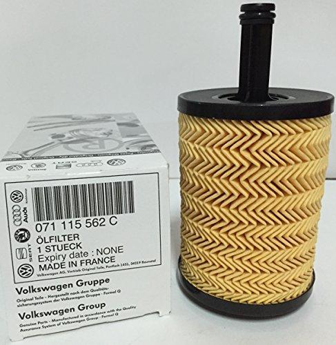 Pack Huile Castrol Edge TD 5W405l + Filtre d'origine de Moteur VW/Audi/Seat TDI (071115562C)