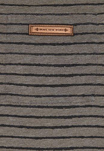 Naketano Male Sweatshirt Kommt Ein Dünnschiss III Heritage Dark Grey Melange