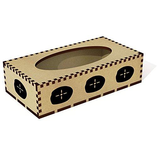 Azeeda Lange 'Sand Dollar' Tissue Box Cover aus Holz (TB00018340)