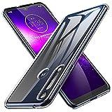 iBetter Morbido Slim TPU per Moto G8 Play/Motorola One Macro Cover,Antiurto Trasparente Silicone Custodia, per Moto G8 Play/Motorola One Macro Smartphone.Trasparente