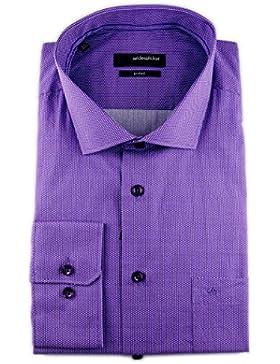 Seidensticker - Camisa formal - Lunares - Clásico - para hombre