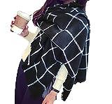Minetom Sciarpa, Donna, Moda Donna Inverno Caldo Sciarpa Scialle Lungo Morbidi Sciarpe Wraps