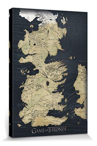 1art1® Juego De Tronos - Mapa De Westeros
