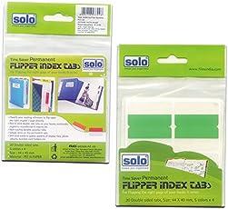 SOLO 20PCSFlipper Index Tab