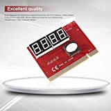 Hemore Laptop Motherboard Mini PCI PCI-E LPC Post Fehlerbehebung Diagnose Karte Büro Computer Expansion Card