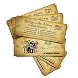 30 Geburtstagskarten Geburtstagseinladungen Einladungskarten zum Geburtstag
