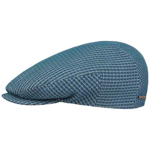 Casquette 3D Effect Cotton Stetson bonnet type gavroche casquette masculine Bleu