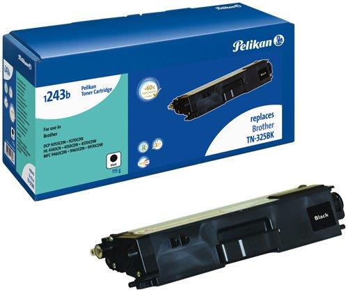 Preisvergleich Produktbild Pelikan Toner-Modul 1243b ersetzt Brother TN-325BK, Schwarz, 4000 Seiten