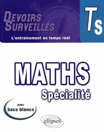 Mathématiques spécialité Tle S par Claudette Marion