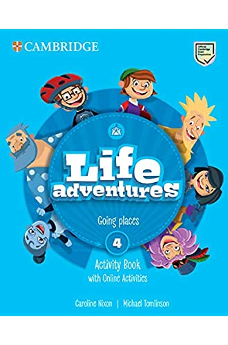 Life Adventures Level 4 Activity Book with Home Booklet and Online Activities